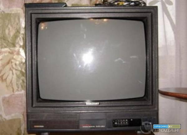 Ремонт телевизора горизонт своими руками видео