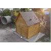 Изготовим домик для колодца