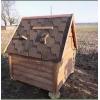 Изготовим домик для колодца с гибкой черепицей